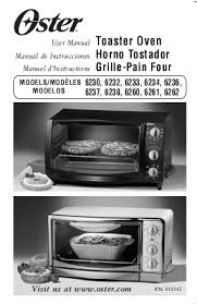 search toaster oven user manuals manualsonline com oster 6236 oster 6236 toaster