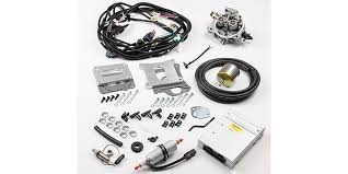howell efi tbi conversion kits for ford engine builder magazine the complete plug and play kit includes a remanufactured gm throttle body appropriate for the engine size the ecm fuel pump and all sensors