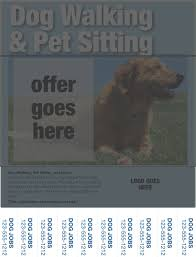 dog walking flyers essential elements you ll need pet dog walking flyers contact information