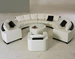 Bedroom: Luxury Curved Sectional Sofa With Zgallerie Furniture And Within Round  Sectional Sofa Bed (