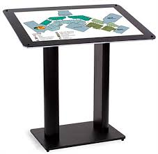 Angled Display Stand Standing Directory Lobby Display Navigation Guide 82