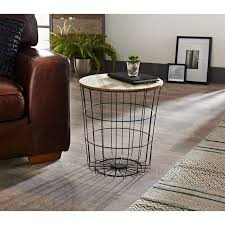 tromso basket side table living room