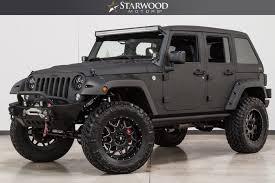 jeep 2016 wrangler.  Jeep Starwood Motors 2016 Jeep Wrangler Unlimited Sport Hemi Lockers Wilwood  Brakes Image 1 And A