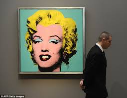 the original the portrait is inspired by andy warhol s silkscreen paintings of marilyn monroe