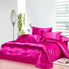 twin duvet covers hot pink silk bedding set satin sheets luxury queen full twin quilt duvet cover super king flannel duvet covers twin size