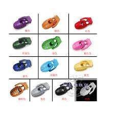 6-<b>100pcs</b> Colorful Plastic Grenade <b>Style</b> Cord Lock Stopper For ...