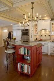 A New Kitchen With Class And A Bit Of Whimsy   Traditional   Kitchen  Islands And Kitchen Carts   Boston   Kitchens By Design, Inc.