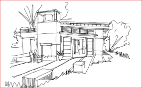architecture house sketch. Modren Sketch Focal  To Architecture House Sketch E