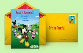 9+ Mickey Mouse Templates - Free Psd, Vector, Jpeg Format Download ...