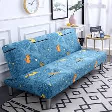 universal size printed sofa bed cover