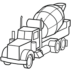 Free Truck Coloring Pages Construction Vehicle Coloring Pages