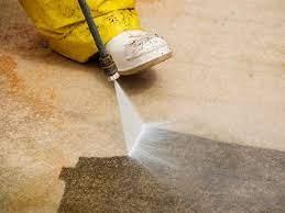 to clean a concrete driveway