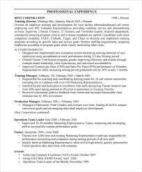 16 Sample Bpo Resumes Sample Templates