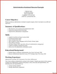 Executive Assistant Career Objective Administrative Assistant Objectives Examples Template Sample Legal