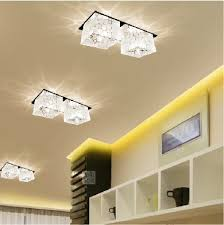 new 2014 6w modern crystal font b hallway b font font b lights b font font best lighting for hallways