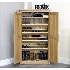 furniture shoe storage. Solid Oak Hallway Hall Furniture Shoe Storage Cabinet Cupboard Rack With Doors Uk Sale . Slim