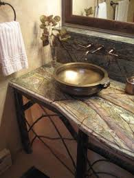 This tile is fantastic. Master Vanity - eclectic - bathroom - other metros  - Shelley Sims/Thrive Des… | Eclectic bathroom design, Eclectic bathroom,  Bathroom red