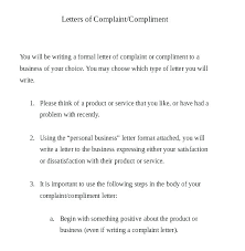 Complaint Letter To Landlord Template Complaint Email Template Puebladigital Net