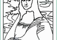 Mona Lisa Coloring Page Amazing Mona Lisa Coloring Pages Easy How To