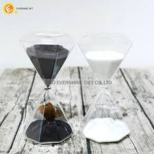 polygon hourglass sand timer for 10 15 25 30 45 60 minute