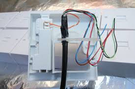 telephone wiring colour code telephone extension socket com this picture shows the external dropwire cable from the telegraph pole or lead in wired directly to the rear of the bt master socket nte5
