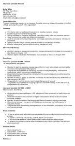 Awesome Collection Of Full Specialist Resume Examples Epic Food ...
