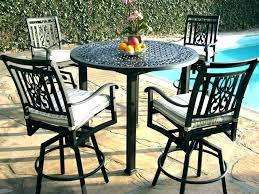 tall bistro table. Tall Outdoor Bistro Set Table Pub Height