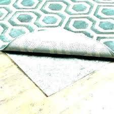 best rug pad gripper for hardwood floors area carpet choosing the pads