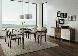 dark walnut white dining furniture