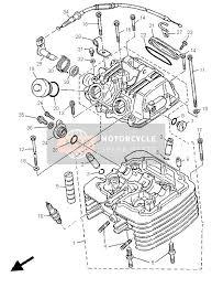 yamaha tt600r 1999 spare parts msp cylinder head
