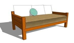Simple Furniture Plans Hanging Daybed Plans Picture With Amazing Simple Daybed Diy Frame