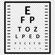Eye Chart Eye Examination Eye Care Professional