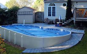 semi inground pool installers long island semi inground pool total cost semi inground pool reviews in with in ground pool installers