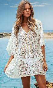 V Neck Beach Kaftan Dress Stella La Moda