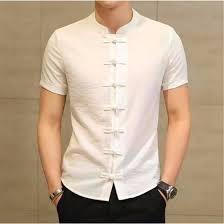 Shop <b>2018 Summer</b> New <b>Men Shirt</b> Fashion Chinese style Linen ...
