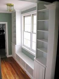 18 best built in cabinets around windows images on