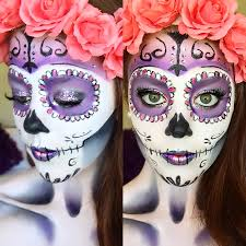 clic sugar skull makeup tutorial 2016