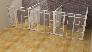 office cubicles walls. Designer Half Glass Office Demountable Walls Room Dividers Cubicle Cubicles O
