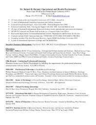 Hospital Psychologist Sample Resume Enchanting Dr Roland Resume 44