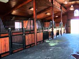 monitor style horse barn
