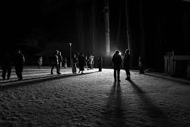 Winterwalk, Koyasan, uncropped