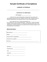 Ideas Certificate Conformance Free Image Collections Certificate