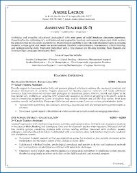Teacher Assistant Resume 100 Sample Teacher Assistant Resume SampleResumeFormats100 79
