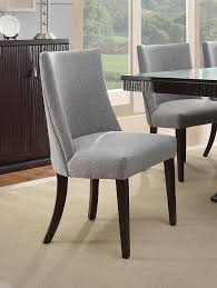 amazon homelegance 2588s accent dining chair set of 2 blue intended for gray upholstered chairs remodel 1