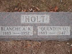 Quenton Ozias Holt (1883-1947) - Find A Grave Memorial