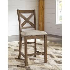 D631 124 Ashley Furniture Moriville Upholstered Barstool