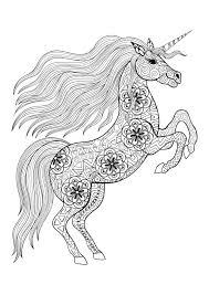 Unicorni 57520 Unicorni Disegni Da Colorare Per Adulti Con Unicorno