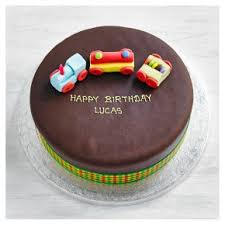 Fiona Cairns Chocolate Train Birthday Cake Waitrose Partners