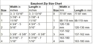 Easyboot Cloud Size Chart Easycare Easyboot Zip Leather Insert