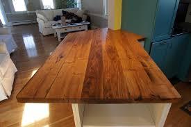Wooden Kitchen Countertops Reclaimed Wood Kitchen Countertops Dansupport